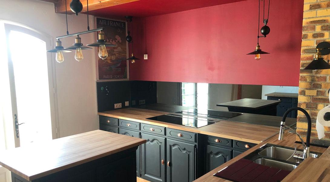 Avis Client: Rénover sa cuisine avec une crédence miroir