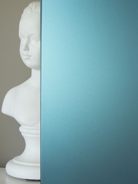 Perfect crdence with credence bleu petrole for Credence bleu turquoise