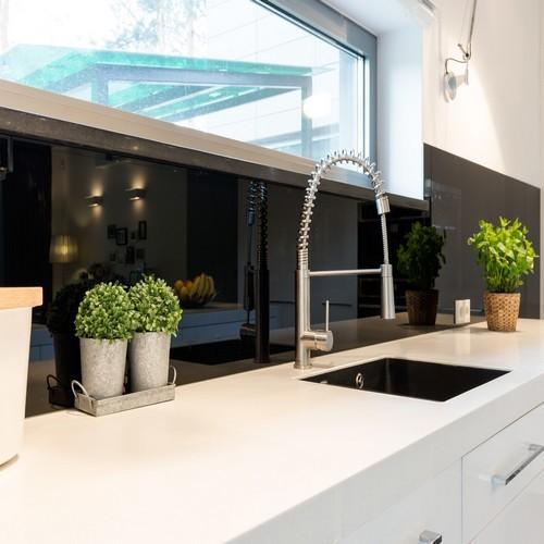 Soldes : Les crédences de cuisine en verre