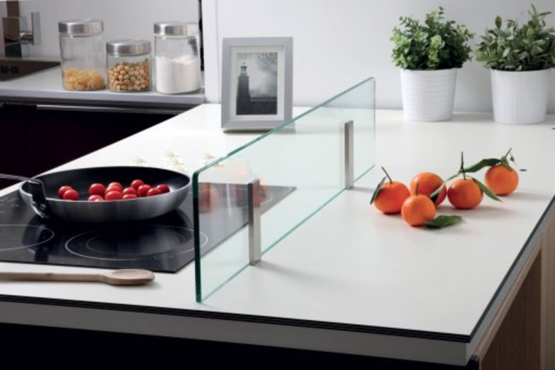 Table cuisine verre tremp table basse en verre tremp et - Table cuisine verre trempe ...