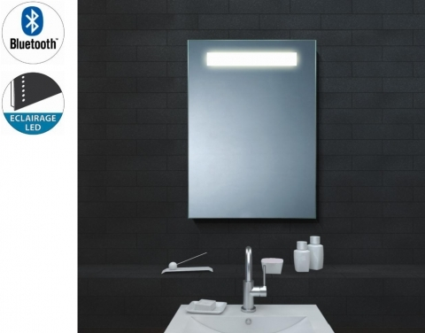 Miroir bluetooth avec lumi re led for Lumiere led miroir