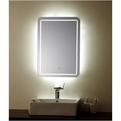 Miroir de salle de bain clairage led for Miroir salle de bain led