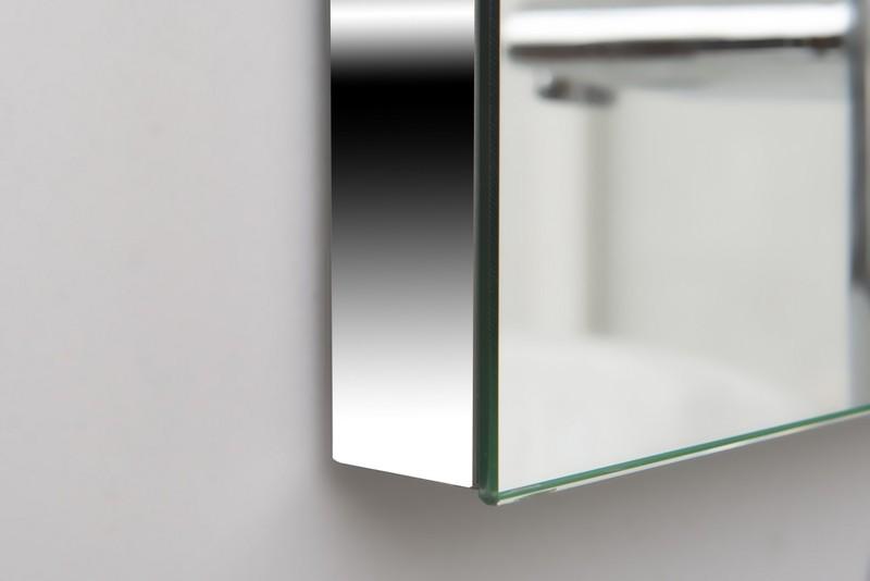 Miroir lumineux fluorescent sur mesure for Encadrement miroir sur mesure