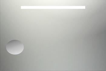 Miroir de salle de bain lumineux fluorescent for Miroir salle de bain 60 x 80