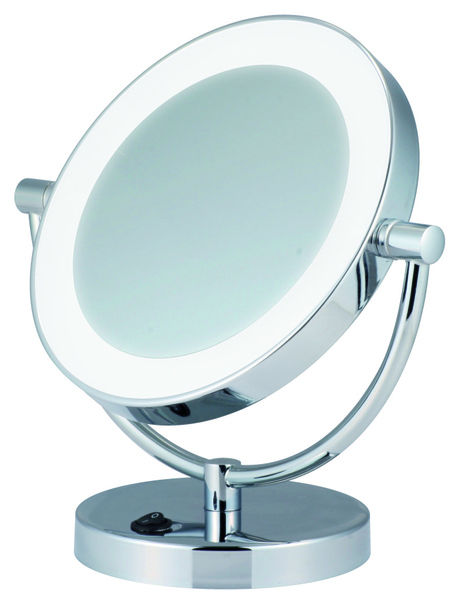 Miroir grossissant clairage led for Miroir grossissant lumineux