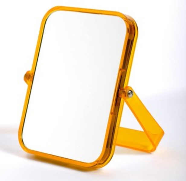Miroir rectangle pop for Miroir jaune