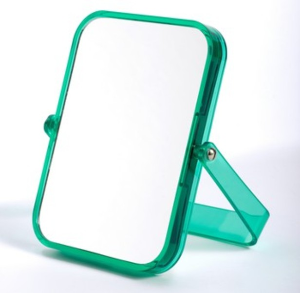 Miroir rectangle pop for Miroir grossissant