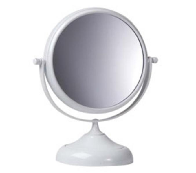 Miroir grossissant rond haute pr cision for Miroir rond sur pied