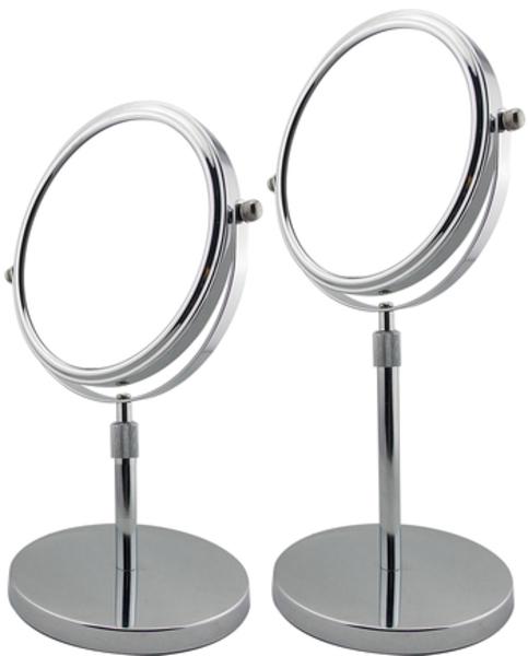 Miroir grossissant sur pied t lescopique for Miroir grossissant