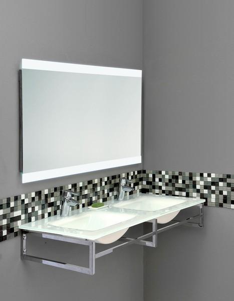 miroir led serena 120. Black Bedroom Furniture Sets. Home Design Ideas