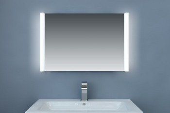 Miroir led avec syst me antibu e - Miroir rangement salle de bain ...