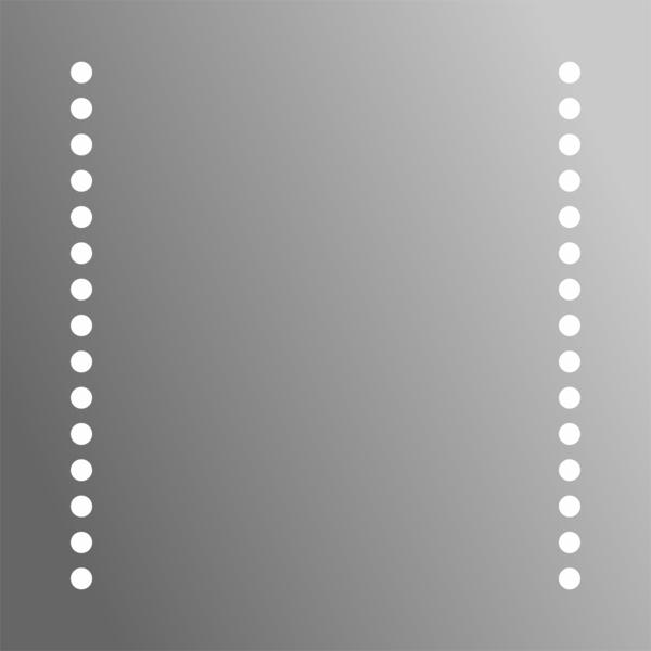 Miroir De Salle Bain Antibue Et Clairage LED