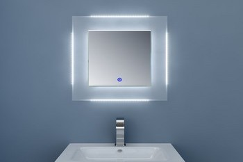 Miroir de salle de bain clairage led - Eclairage salle de bain led ...
