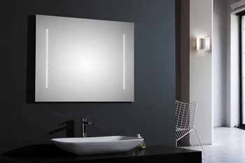 miroir de salle de bain clairage led. Black Bedroom Furniture Sets. Home Design Ideas