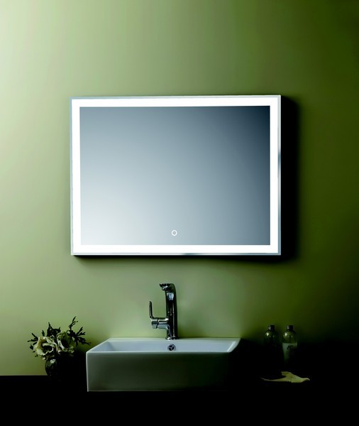miroir de salle de bain clairage led sensitif. Black Bedroom Furniture Sets. Home Design Ideas