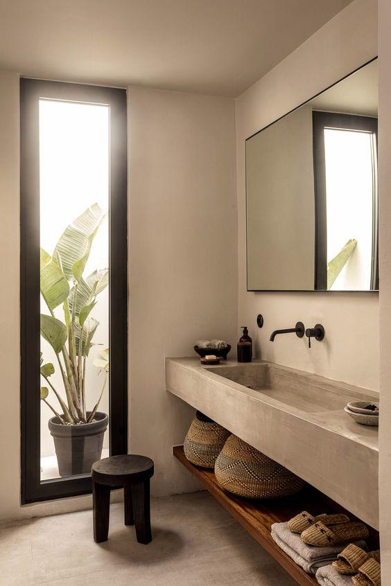Miroir de salle de bain rectangulaire
