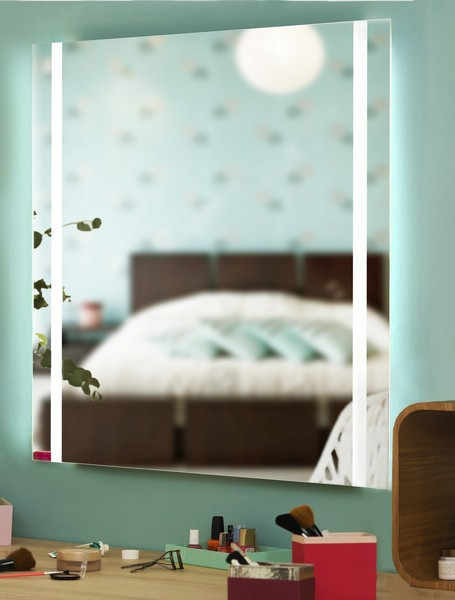 miroir leds sur mesure. Black Bedroom Furniture Sets. Home Design Ideas