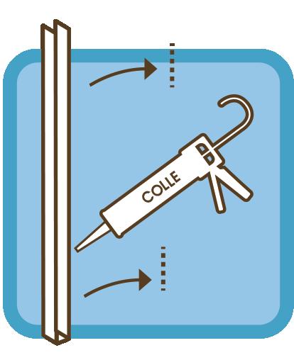 Installation d'un pare douche en verre sur mesure