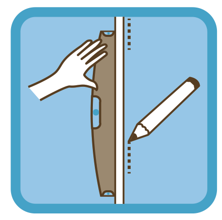 Installation d'une paroi de douche fixe en verre sur mesure