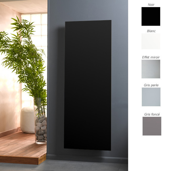 radiateur lectrique en verre c t verre. Black Bedroom Furniture Sets. Home Design Ideas