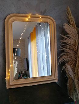 DIY: comment rénover un miroir ancien doré?