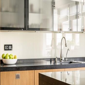 Soldes cr dences de cuisine en verre sur mesure - Credence cuisine en verre sur mesure ...