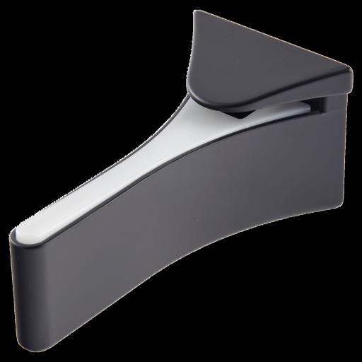support pour tablette en verre. Black Bedroom Furniture Sets. Home Design Ideas