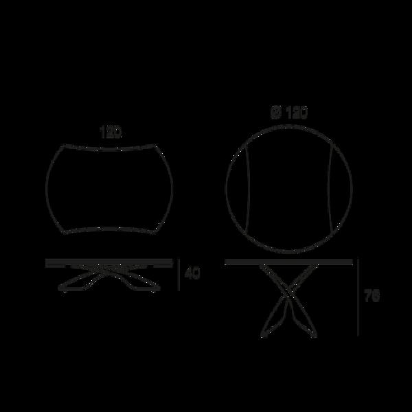 table ouvrable avec plateau en verre. Black Bedroom Furniture Sets. Home Design Ideas