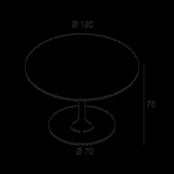 table rosa. Black Bedroom Furniture Sets. Home Design Ideas