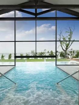 Top 10 des plus beaux spas vitrés!
