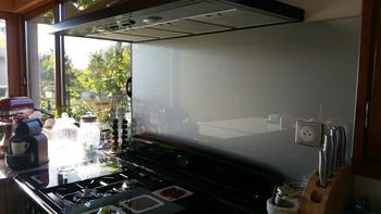 Crédence de cuisine argent métallisé - Mme Amaral (69)