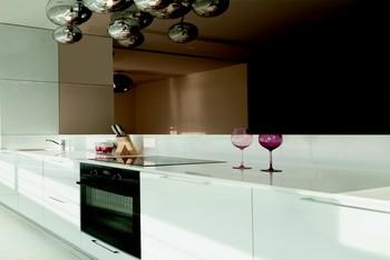 Crédence de cuisine miroir sur mesure