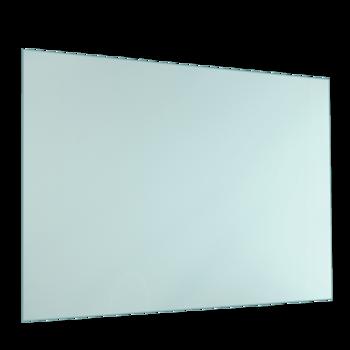 Cr dence de cuisine avec lumi re led verre satin for Photophore en verre transparent