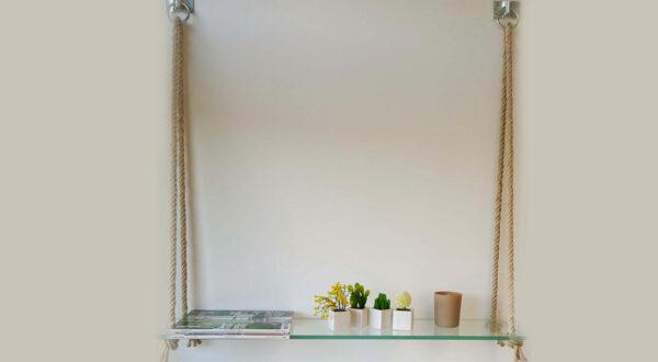Côté Verre, premier de cordée : votre étagère de cordes et de verre