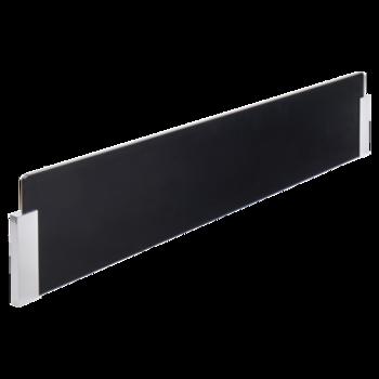 cr dence en verre noire pour lot de cuisine et plan de. Black Bedroom Furniture Sets. Home Design Ideas