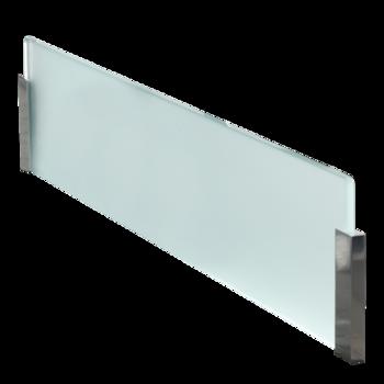 Cr dence en verre satin pour lot de cuisine - Credence en miroir pour cuisine ...