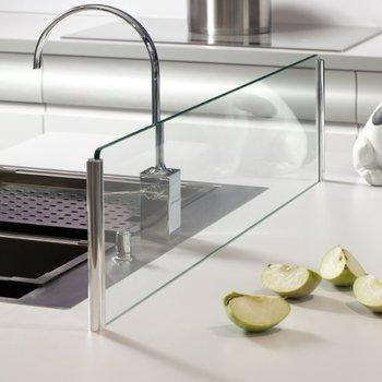 Cr dence de cuisine en verre sur mesure livraison dans - Credence cuisine verre sur mesure ...
