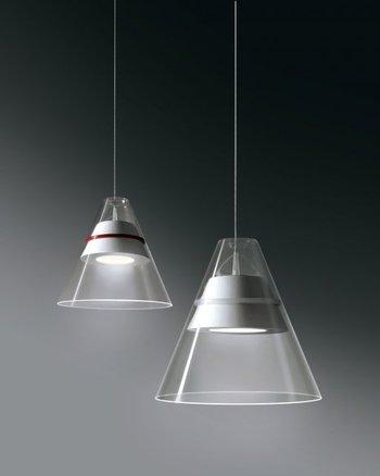 Des luminaires de prestige c t verre for Suspension en verre pour cuisine
