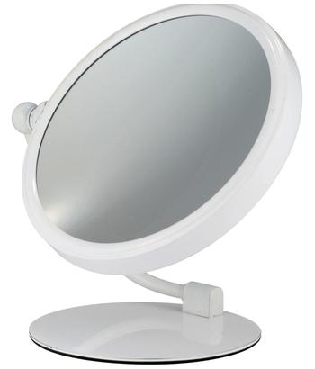 Miroir Rond 20 Blanc