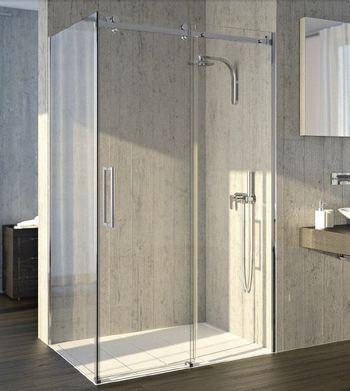 Verre pour paroi de douche fabriqu sur mesure livraison dans toute la france - Pare douche coulissant ...