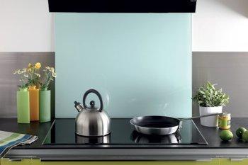 Crédence de cuisine en verre securit