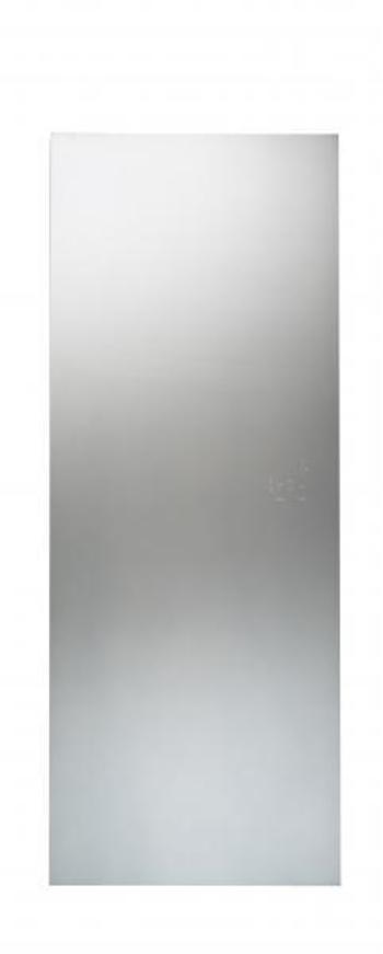 Radiateur lectrique en verre c t verre for Miroir vertical