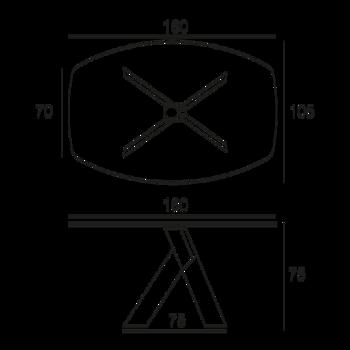 table ykos. Black Bedroom Furniture Sets. Home Design Ideas
